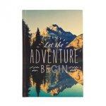Travel Journal Let the Adventure Begin
