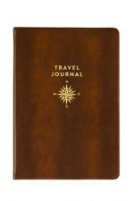 Travel Journal Gold Compass