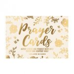 Christian Collection Prayer Cards Gold