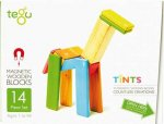 Tegu Magnetic Wooden Blocks 14pc Tints