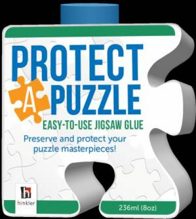 Protect A Puzzle: Easy To Use Jigsaw Glue
