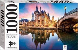 Mindbogglers 1000 Piece Jigsaw: Gent, Belgium