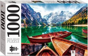 Mindbogglers 1000 Piece Jigsaw: Braies Lake, Italy