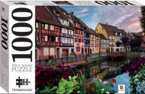 Mindbogglers 1000 Piece Jigsaw: Colmar, France
