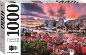 Mindbogglers 1000 Piece Jigsaw: Dalmatia, Croatia