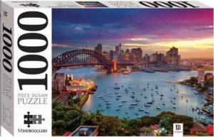 Mindbogglers 1000 Piece Jigsaw: Sydney Harbour Sunset, Australia by Various