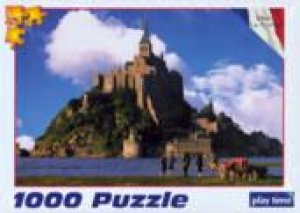Mont Saint Michel, France: Jigsaw Puzzle by Various