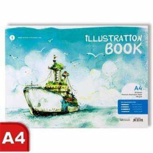 A4 Illustration Book - Boat by Various