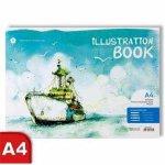 A4 Illustration Book  Boat