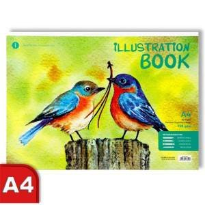 A4 Illustration Book - Birds by Various