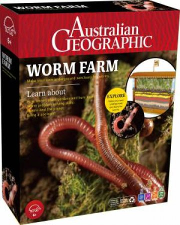 Australian Geographic: Worm Farm by Various