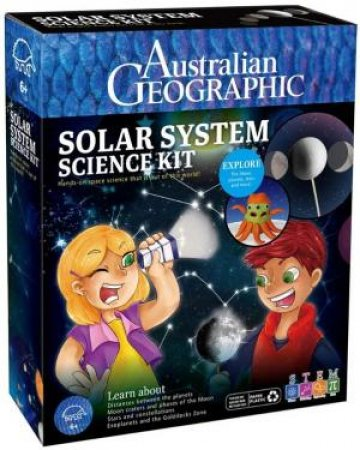 Australian Geographic: My First Solar System Science Kit by Various