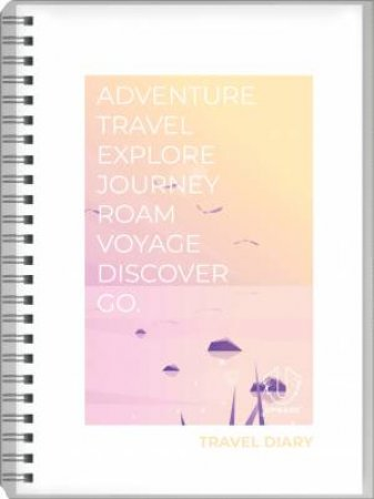 Upward Spiral Travel Diary Trip Book