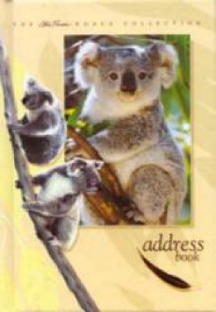 Australian Koala Address Book by Steve Parish
