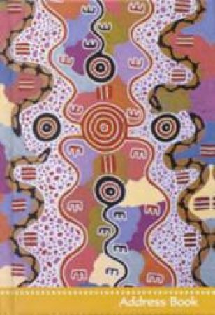 Australian Aboriginal Central Desert Art Address Book by Steve Parish
