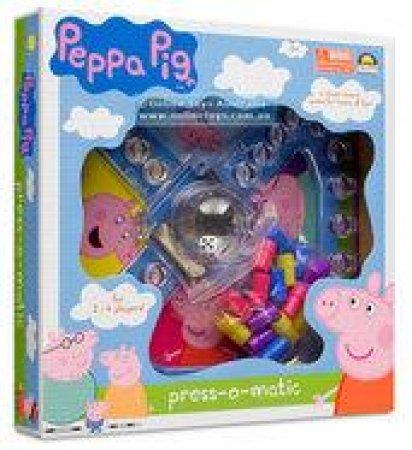 Peppa Pig Press-O-Matic Game