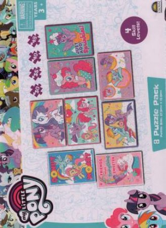 8 In 1 Puzzle Pack: My Little Pony