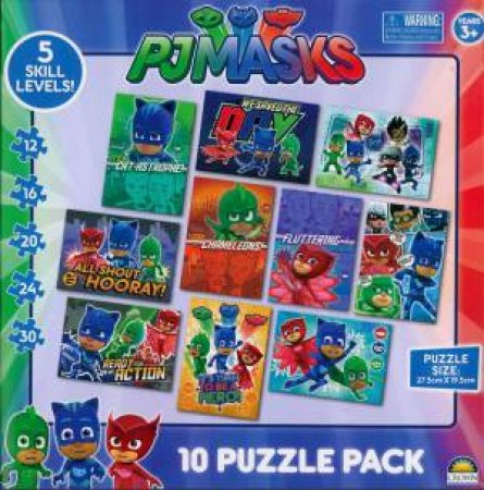 PJ Masks 10-In-1 Puzzle by Various