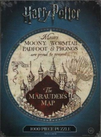 Harry Potter 1000 Piece Puzzle: Marauder's Map