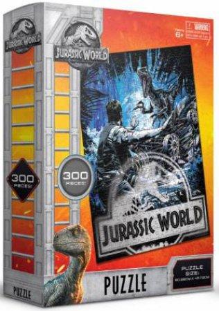 Jurassic World: Fallen Kingdom 300 Piece Puzzle: Blue Raptor