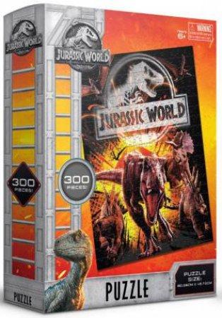 Jurassic World: Fallen Kingdom 300 Piece Puzzle: Yellow T-Rex