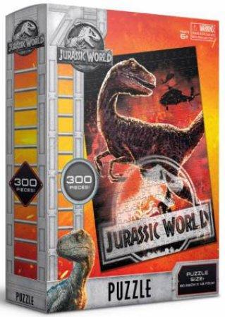 Jurassic World: Fallen Kingdom 300 Piece Puzzle: Red Raptor