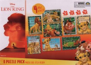 8 In 1 Puzzle Pack: The Lion King