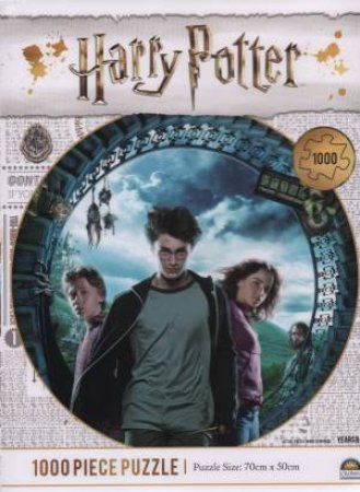 Harry Potter 1000 Piece Puzzle: Prisoner Of Azkaban