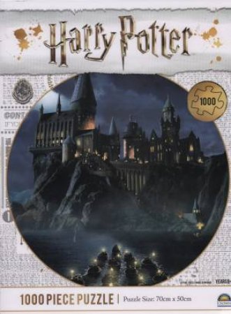 Harry Potter 1000 Piece Puzzle: Hogwarts Castle
