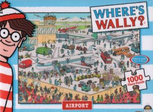 Where's Wally 1000 Piece Jigsaw Puzzle: Airport