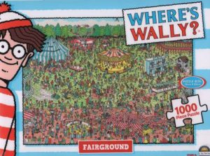 Where's Wally 1000 Piece Jigsaw Puzzle: Fairground
