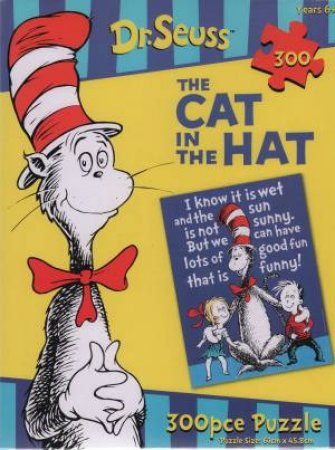 Dr Seuss: The Cat In The Hat 300Pc Jigsaw Puzzle