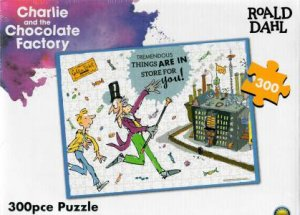 Roald Dahl 300 Piece Puzzle: Charlie And The Chocolate Factory