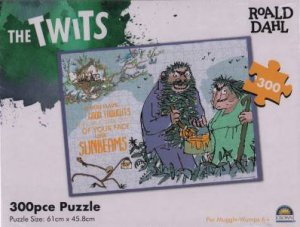 Roald Dahl 300 Pce Puzzle: The Twits