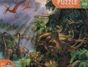 Dinosaur 300 Pce Puzzle: Dinosaur Valley