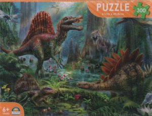 Dinosaur 300 Pce Puzzle: Spinosaur