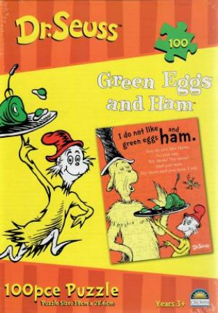 Dr. Seuss 100 Piece Puzzle: Green Eggs And Ham