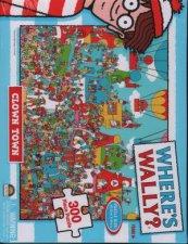 Wheres Wally Clown Town 300pc Puzzle