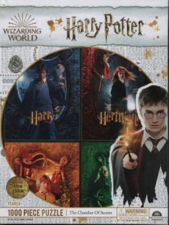 Harry Potter 1000 Piece Puzzle: The Chamber Of Secrets by Various