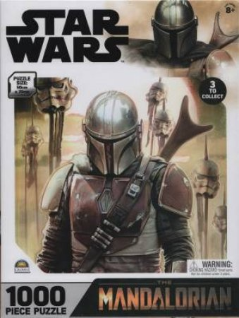 1000 Piece Puzzle Star Wars The Mandalorian 1 by Various