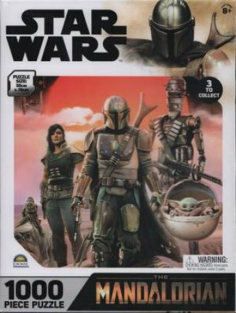 1000 Piece Puzzle Star Wars The Mandalorian 2 by Various