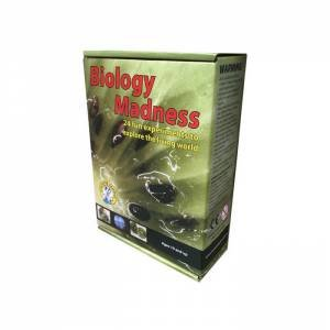 Discover Science: Biology Madness: 24 Experiments by Various