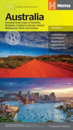Australia Large Map 11th Ed