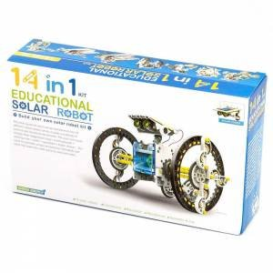 Johnco: 14 in 1 Educational Solar Robot by Various