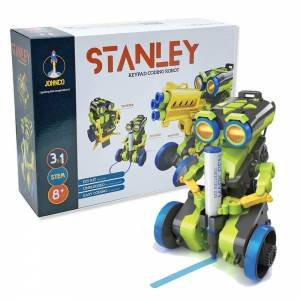 Johnco: Stanley: 3-in-1 Keypad Coding Robot by Various