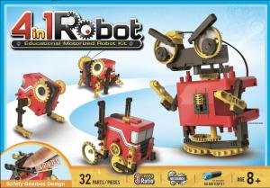 Johnco: 4 in 1 Educational Motorised Robot Kit by Various