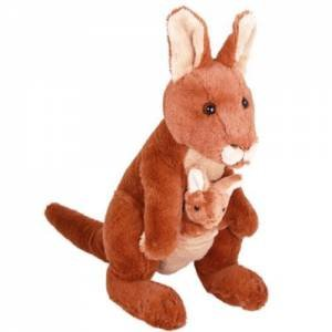 Plush Red Kangaroo Rooby 35cm by Various