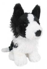 Outbackers Little Matey Border Collie Dog 18cm