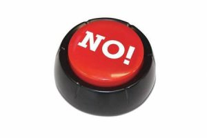 The NO! Button by Various