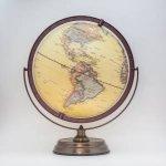30cm Antique Full Meridian Globe